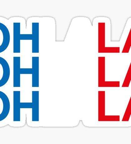 OH LA LA Sticker