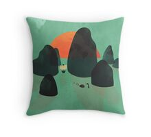 No one ever believed them... Throw Pillow