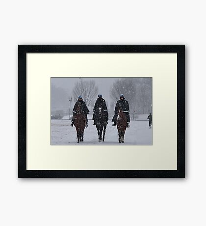 The United States Park Police Framed Print
