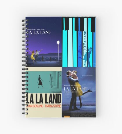 La La Land Posters Spiral Notebook