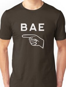 Funny matching couple (left)  - BAE Unisex T-Shirt