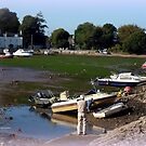Photographer in Starcross by Charmiene Maxwell-Batten