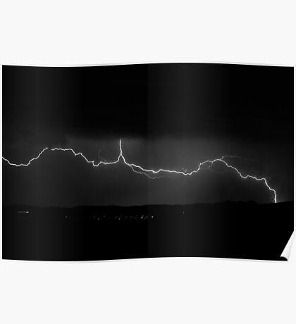 Prescott, Arizona Lightning Poster