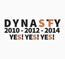 DYNASTY San Francisco Giants 10 12 14 Yes Yes YES 3 World Series  by arteagadesigsn