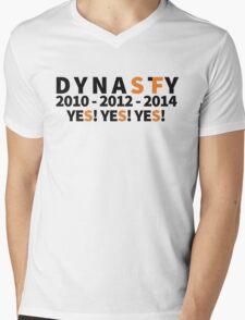 DYNASTY San Francisco Giants 10 12 14 Yes Yes YES 3 World Series  Mens V-Neck T-Shirt