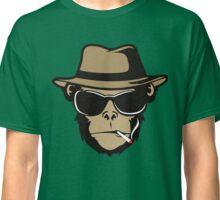 Cool Monkey Smoking Apes T-shirt Gorilla Head Face Tshirt Classic T-Shirt