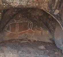 Bunjil Aboriginal Shelter by DavidsArt