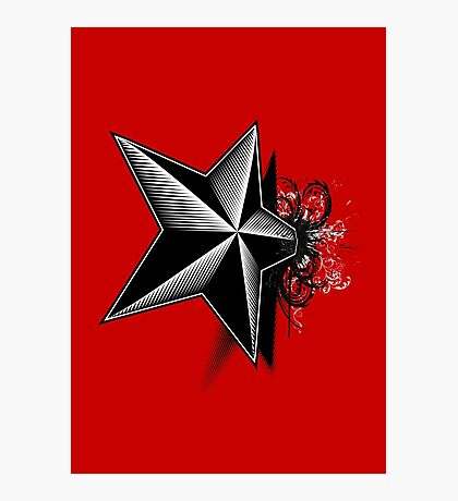 Death upon a Star Photographic Print