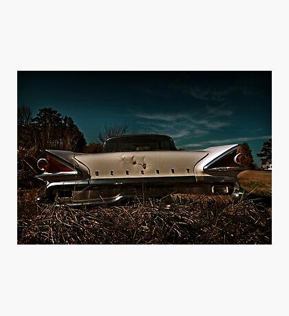 Abandoned Mercury Parklane Photographic Print