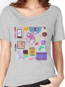 Stress-Relief Kit T-shirt femme coupe relax