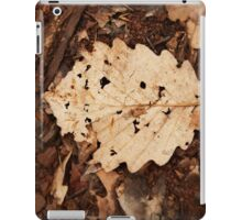 Fallen foliage iPad Case/Skin
