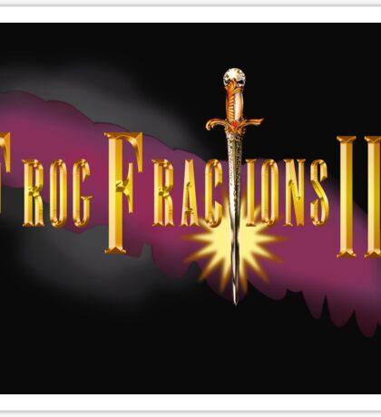 Frog Fractions 3  Sticker