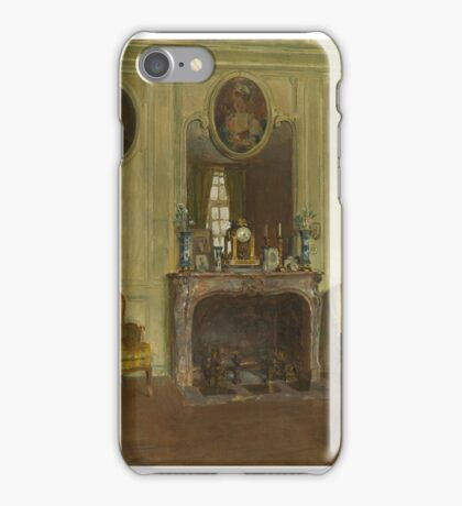 WALTER GAY (1856-1937) Interior at the Chateau du Breau  iPhone Case/Skin