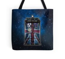 British Union Jack Space And Time traveller Tote Bag