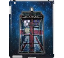 British Union Jack Space And Time traveller iPad Case/Skin