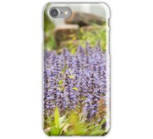Small lavender flowers iPhone Case/Skin