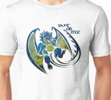 Save or Die - Blue Unisex T-Shirt