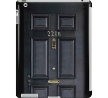 Black Door with 221b number iPad Case/Skin