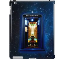 Space And Time traveller Box that More Bigger on the inside iPad Case/Skin
