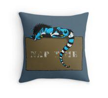 Nap Time Dragon Throw Pillow