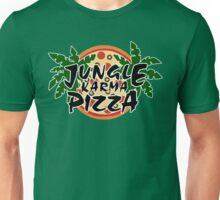 Jungle Karma Pizza Employee Shirt Unisex T-Shirt