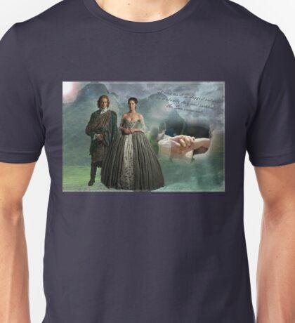 Outlander Wedding quote Unisex T-Shirt