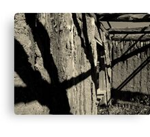 Shadows of the Past Canvas Print