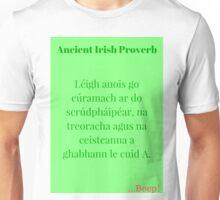 Léigh Anois go Cúramach! Unisex T-Shirt