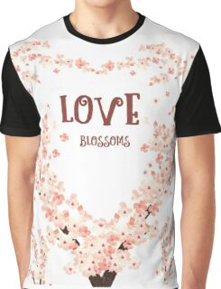 Love blossoms Graphic T-Shirt