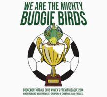 Official Budgie Birds Merchandise by SeanDunlop