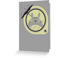 Totoro 2 Greeting Card