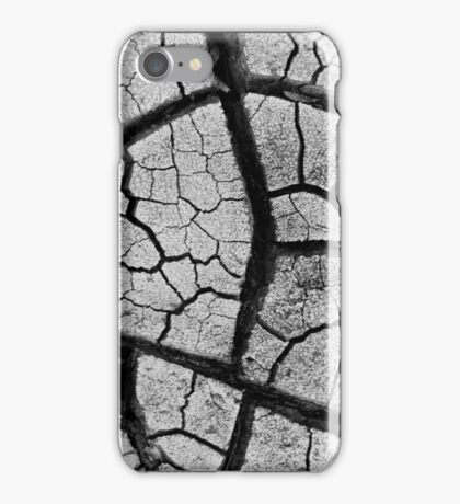 Dry river bed iPhone Case/Skin