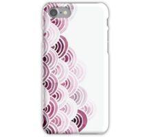 magenta sea clouds iPhone Case/Skin