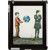 For some people, the world is not enough!! iPad Case/Skin