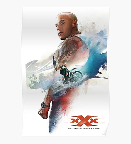xxx xander cage Poster