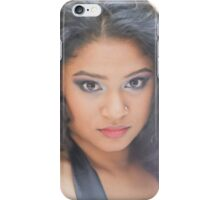 Ruby-Purple Eyeshadow iPhone Case/Skin