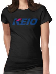 Keio Japan Railway Womens Fitted T-Shirt