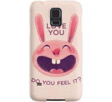 Bunny with love Samsung Galaxy Case/Skin