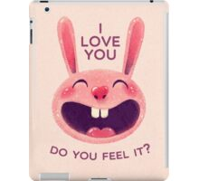Bunny with love iPad Case/Skin
