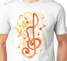 Music Notes 2 Unisex T-Shirt