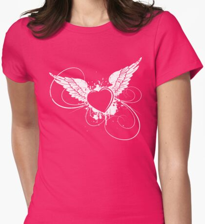 Pink Angel Womens Fitted T-Shirt