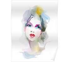 Young woman portrait  Poster