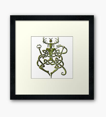 Cernunnos Framed Print