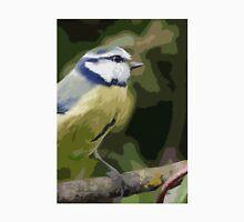 "Birds story, "" fawn paint Picasso ! "" 26 (c) (h) the Blue Tit - Olao-Olavia by Okaio Créations  Unisex T-Shirt"