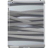 ribbon paper background white iPad Case/Skin