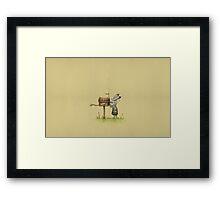 post-Mummy Framed Print