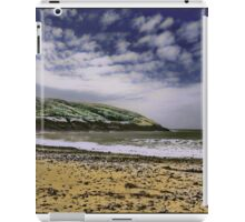 Manorbier Beach, Pembrokeshire by Tim Constable iPad Case/Skin