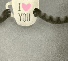 I♥you Sticker