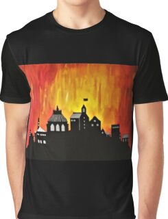 Fire on its Way Graphic T-Shirt