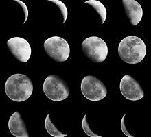 Lunar Cycle by ElinCST